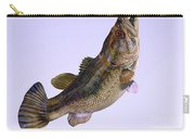 Largemouth Bass Side Profile Carry-all Pouch
