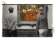 Larger Than Life - Contemplating Art Carry-all Pouch