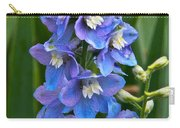 Larkspur And Lady Friend Carry-all Pouch