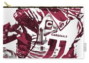Larry Fitzgerald Arizona Cardinals Pixel Art 1 Carry-all Pouch