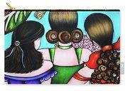 Las Tres Rosas Carry-all Pouch