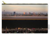 Las Vegas Skyline At Dawn And At Night Carry-all Pouch