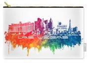 Las Vegas Skyline City Color Carry-all Pouch