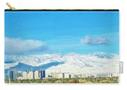 Las Vegas Strip And Mt Charleston Carry-all Pouch