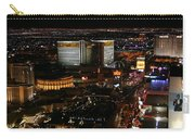 Las Vegas Strip Carry-all Pouch by Kristin Elmquist