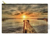 Last Call At Sunset Dock Carry-all Pouch