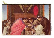 Last Communion Of St Jerome Carry-all Pouch