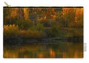 Last Light At Oxbow Bend  Carry-all Pouch