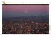 Last Light On Mt Hood Carry-all Pouch