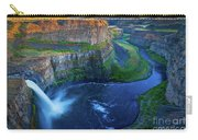 Last Light On Palouse Falls Carry-all Pouch
