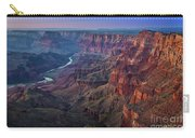 Last Light On The Canyon Carry-all Pouch
