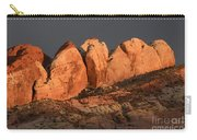 Last Light Valley Of Fire Carry-all Pouch