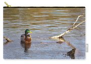 Last Mallard Of Autumn         October       Indiana    Carry-all Pouch
