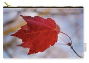 Last Of The Leaves Nature Photograph Carry-all Pouch