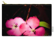 Last Of The Pink Dianthus Flowers Carry-all Pouch