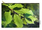 Last Of The Summer Leaves Carry-all Pouch
