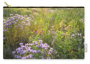 Last Rays Of Sun Light Wildflowers In Moraine Hills Sp Carry-all Pouch