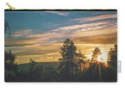 Last Rays Of Sunday Carry-all Pouch by Jason Coward