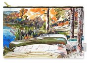 Last Summer In Brigadoon Carry-all Pouch by Kip DeVore
