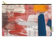Last Train To Kobenhavn- Art By Linda Woods Carry-all Pouch