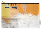 Last Train To Stockholm- Art By Linda Woods Carry-all Pouch