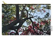 Late Afternoon Tree Silhouette With Bougainvilleas I Carry-all Pouch