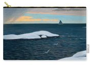 Late Fall At Sea Carry-all Pouch