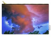 Late Night Nebraska Shelf Cloud 010 Carry-all Pouch