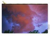 Late Night Nebraska Shelf Cloud 011 Carry-all Pouch