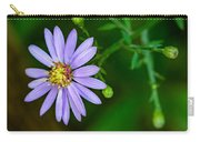 Late Purple Aster Carry-all Pouch