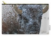 Early Spring Late Snow Buffalo Carry-all Pouch
