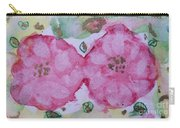 Late Summer Rose V Rosariet Carry-all Pouch