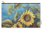 Late Sunflowers  Carry-all Pouch
