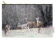 Late Winter Whitetails Carry-all Pouch
