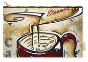Latte By Madart Carry-all Pouch by Megan Duncanson