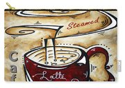 Latte Original Painting Madart Carry-all Pouch