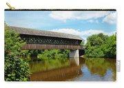 Lattice Covered Bridge Carry-all Pouch