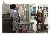 Latvian Photo Studio In The Beginning Of The 20th Century Carry-all Pouch