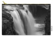 Laugafell Mountain Lodge Waterfalls Iceland 3146 Carry-all Pouch