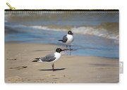 Laughing Gulls On The Beach Carry-all Pouch
