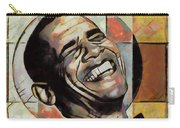 Laughing President Obama Carry-all Pouch