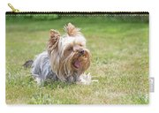Laughing Yorkshire Terrier Carry-all Pouch