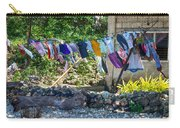 Laundry Drying In The Wind Carry-all Pouch