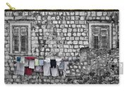Laundry Line - Dubrovnik Croatia #3 Carry-all Pouch