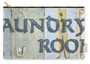 Laundry Room  Carry-all Pouch by Debbie DeWitt