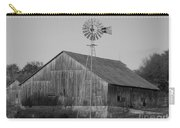 Laurel Road Barn In Black And White Carry-all Pouch