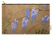 Laurels Wisteria Carry-all Pouch
