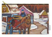 Laurentian Carriage Ride Carry-all Pouch