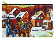 Laurentian Village Ride Carry-all Pouch