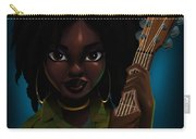 Lauryn Hill Carry-all Pouch by Nelson Dedos Garcia